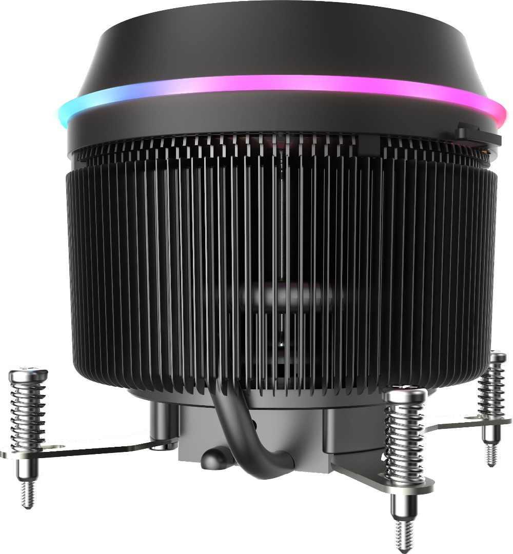 مبرد وحدة المعالجة المركزية Aigo dark flash 3 p-5 فولت TDP 280 وات PWM 4pin LED RGB مروحة تبريد بمشعاع لـ intel AM2/AM3/AM4/2011/LGA/115X