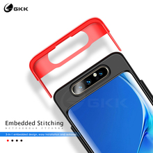 GKK 3 in 1 Original for Samsung Galaxy A80 Case 360 Full Protection Anti-knock Matte Hard PC Cover for Samsung A80 Case Coque gkk case for samsung a80 case 360 full protection with tempered glass 3 in 1 matte hard cover for samsung galaxy a80 case fundas
