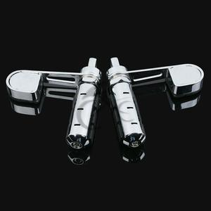 Image 5 - Nuevas clavijas de pie para motocicleta con reposapiés para Softail Sportster XL 883 1200 Iron DYNA FXDF FXDC FXDX