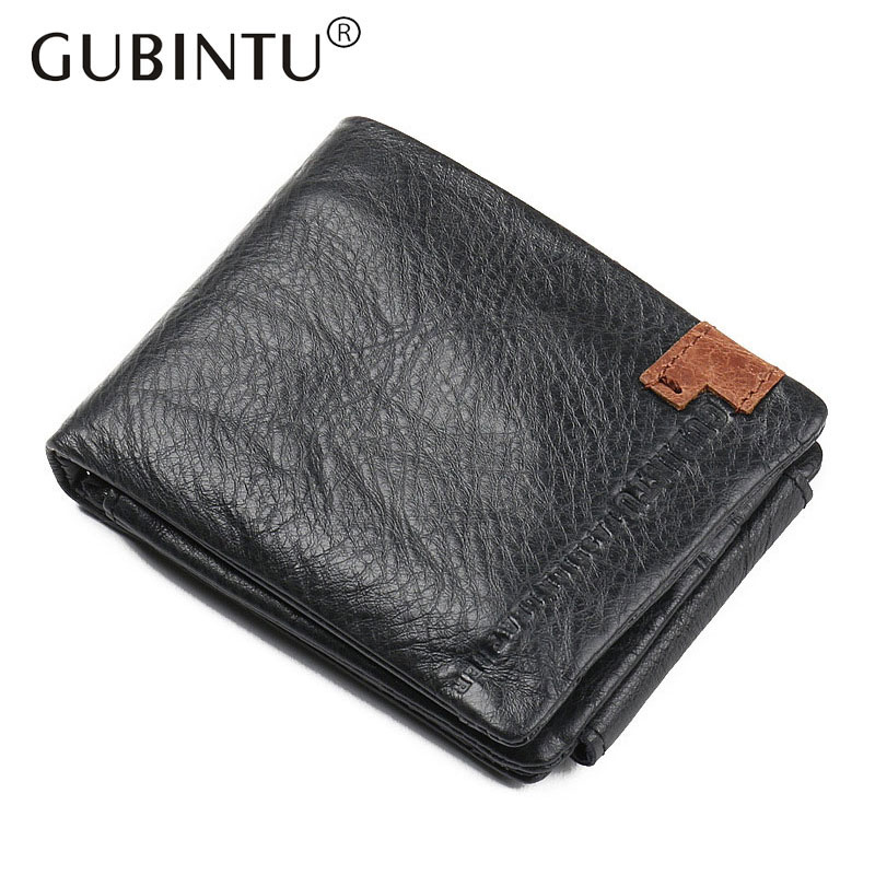 Men 100% Genuine Cowhide Leather Wallet Short Soft Coin Purse Vintage Wallet Brand High Quality Male Wallet carteira high quality men genuine leather organizer wallet vintage cowhide clasp card holder coin purse vintage carteira masculina 1011