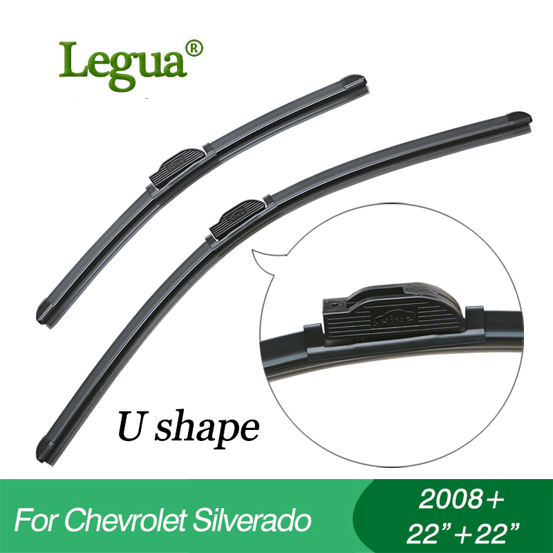 Legua Wiper blades for Chevrolet Silverado(2008+), 22