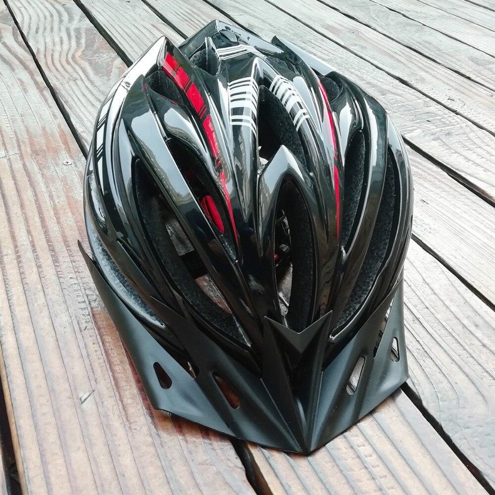 Cycling Helmet Men Women Bicycle Helmet MTB Road Bike Helmets Kids Bicycle Helmets Adults Visor Motorcycle Safety Protector M/L Bicycle Helmet     - title=