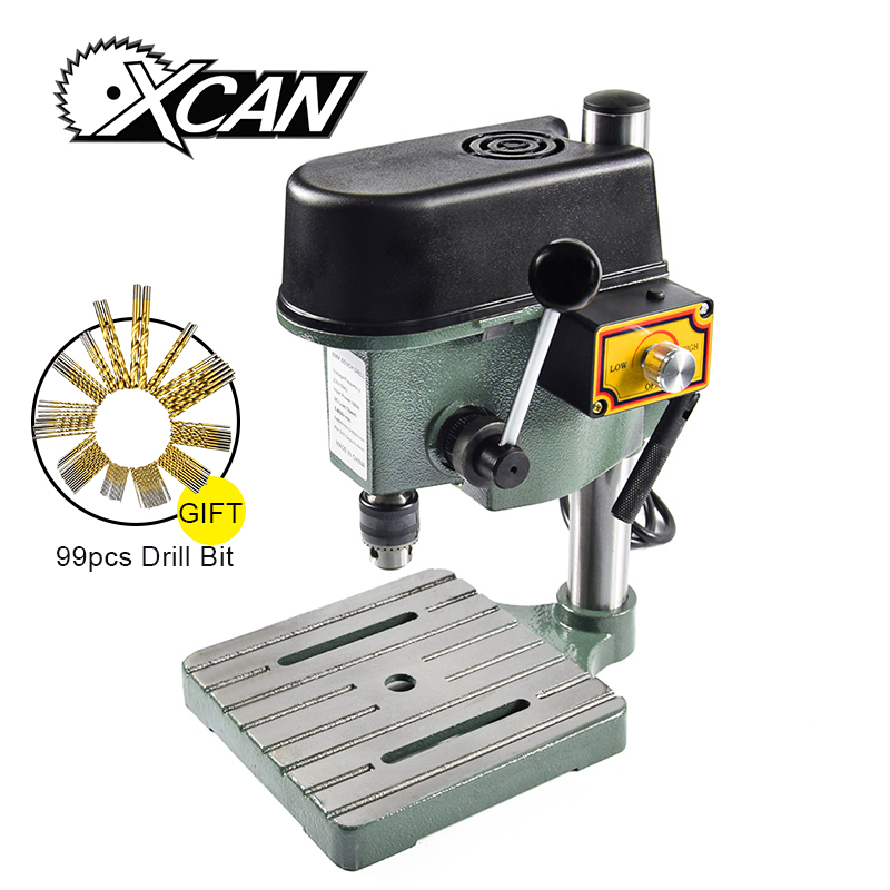 HOT 1 sets high quality mini bench drill compact size and portable for DIY +1 set free 99pcs HSS drill bit u best high quality ludwig mies van der rohe barcelona bench designer bench in genuine leather