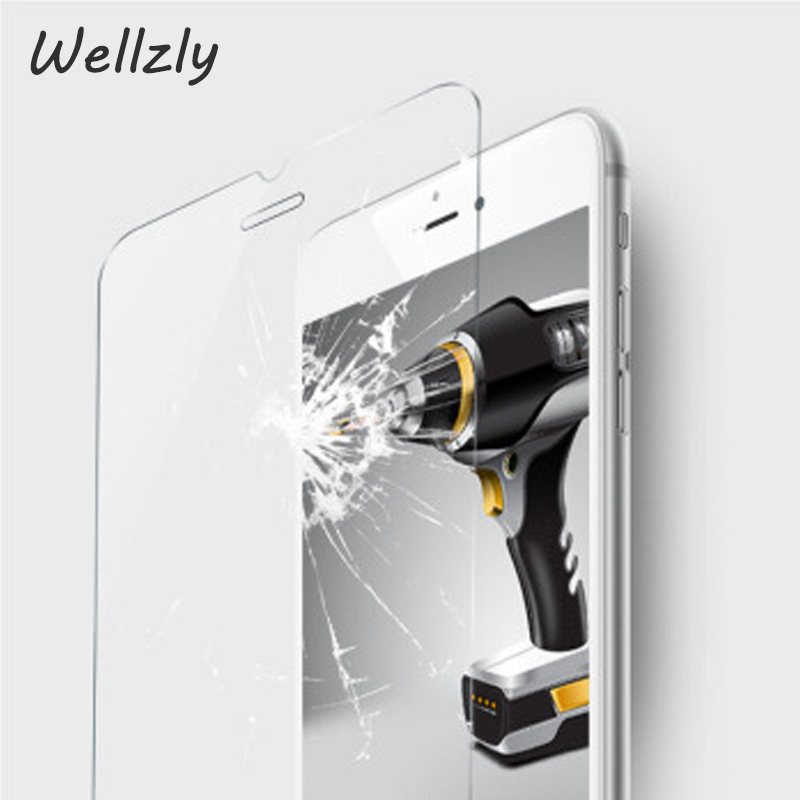 Wellzly 2.5D  Screen Protector Tempered Glass For iPhone X 8 7 6 6s Plus Protective Tempered Glass For iPhone X Xr Xs Xs Ma B33 Lahore