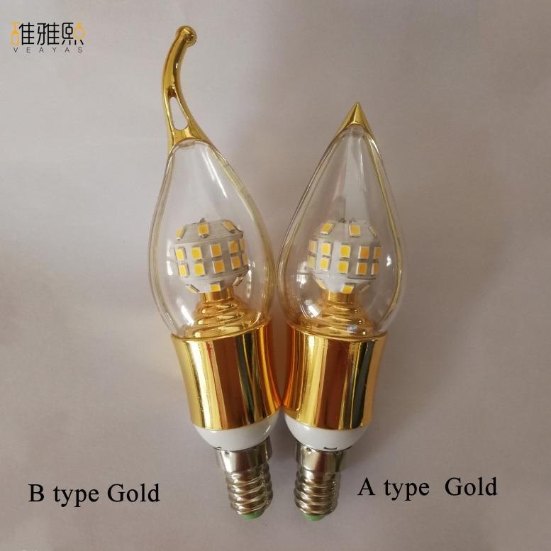 E14 Lampada LED Bulb 110V 220V Bombillas LED Lamp Spotlight LED 2835SMD Lampara Spot Light