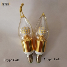 E14 Lampada LED Bulb 110V 220V Bombillas LED Lamp Spotlight  LED 2835SMD Lampara Spot Light candle lamp candle lights