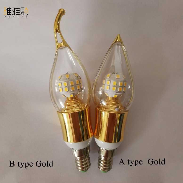 Высокое качество E14 лампада светодиодный светильник 110 В 220 В Bombillas светодиодный светильник светодиодный 2835SMD лампада Точечный светильник Свеча светильник s