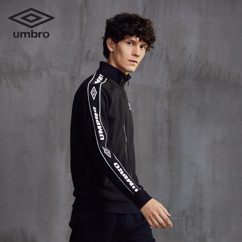 Image 4 - Umbro 2018  New  Men Sports Jacket Sweater Coat Zipper Collar  Male Classic Sportswear Leisure Breathable Jacket  Uo183ap2409Trainning
