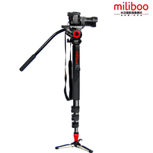 miliboo Aluminum Alloy Tripod Monopod with Fluid Head for DSLR Camera and high stability than Manfrotto