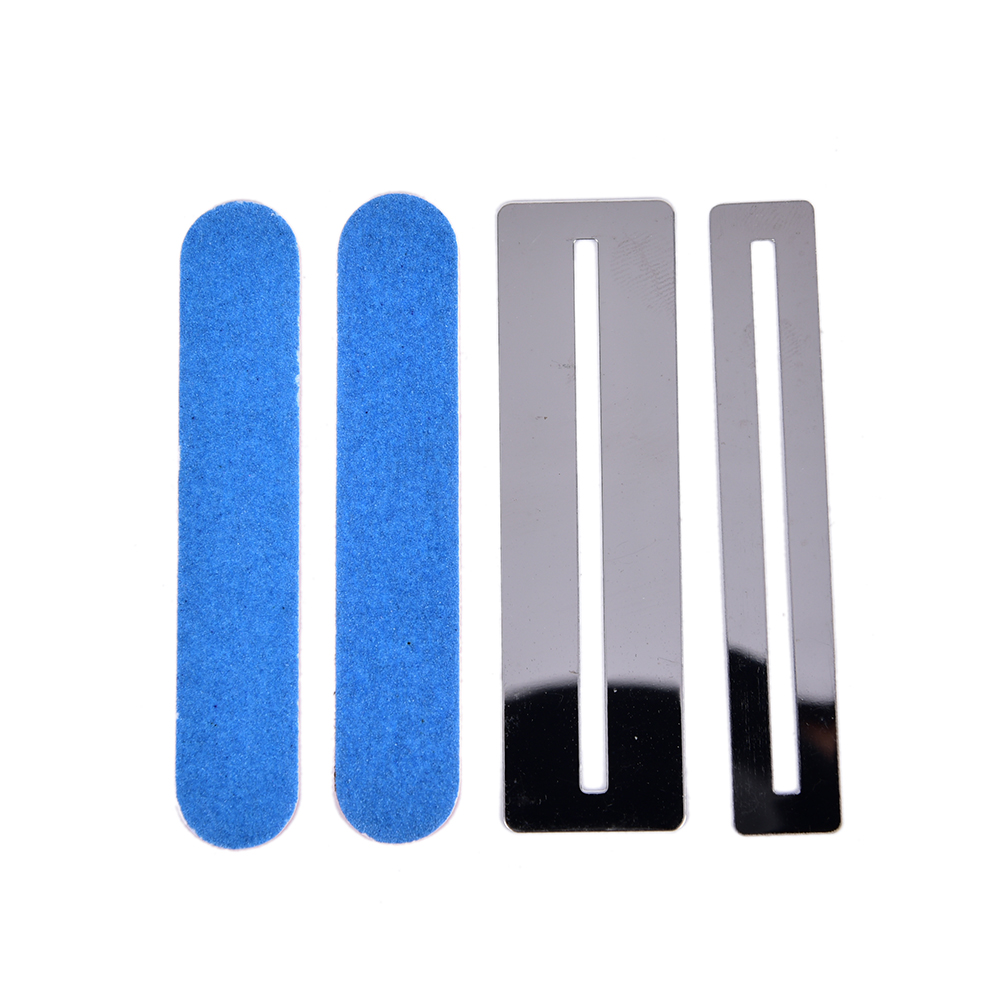 Guitar Parts & Accessories Punctual 4pcs/set Stainless Steel Guitar Bass Fretboard Fret Protector Fingerboard Guards Steel Shim Practical Guitar Repair Tool Sports & Entertainment
