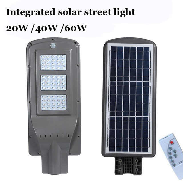 online store 60055 e30c4 10PCS 20W 40W 60W LED Integrated Luminaria Solar Lights For ...