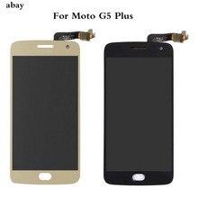 ЖК-дисплей для Motorola Moto G5 Plus XT1685 XT1680 XT1684 XT1683, сенсорный экран, дигитайзер, стекло в сборе, 5,2 дюйма, запасные части