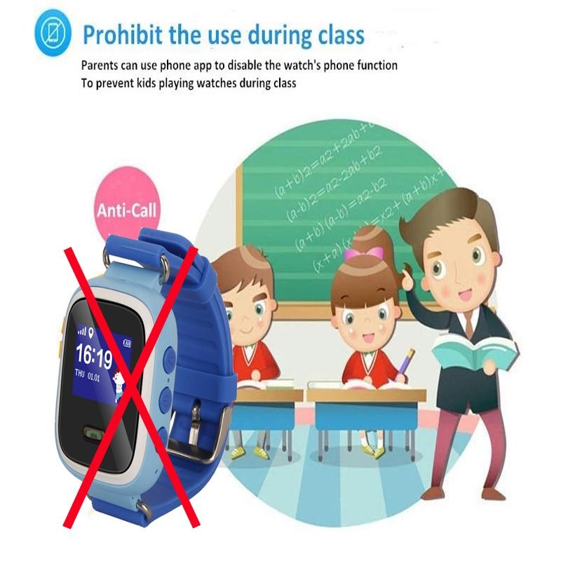 waterproof popular Q60 GPS tracker SOS cell Phone calls kids smart watch for baby children