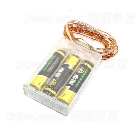 200 leds natal luz 3aa bateria conduziu