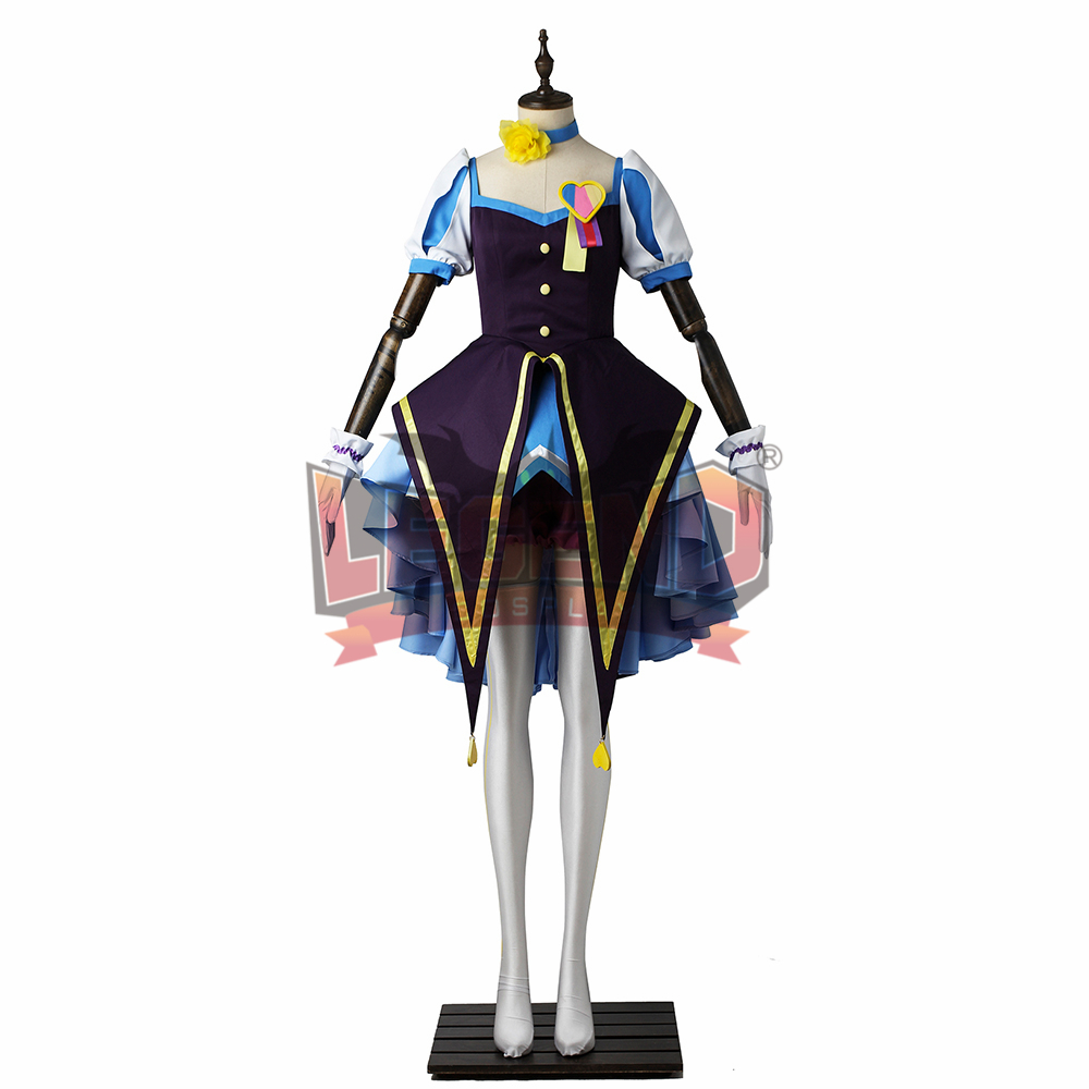 The IDOLM@STER Cinderella Girls: Starlight Stage Mio Honda cosplay adult costume all size custom made girl costume