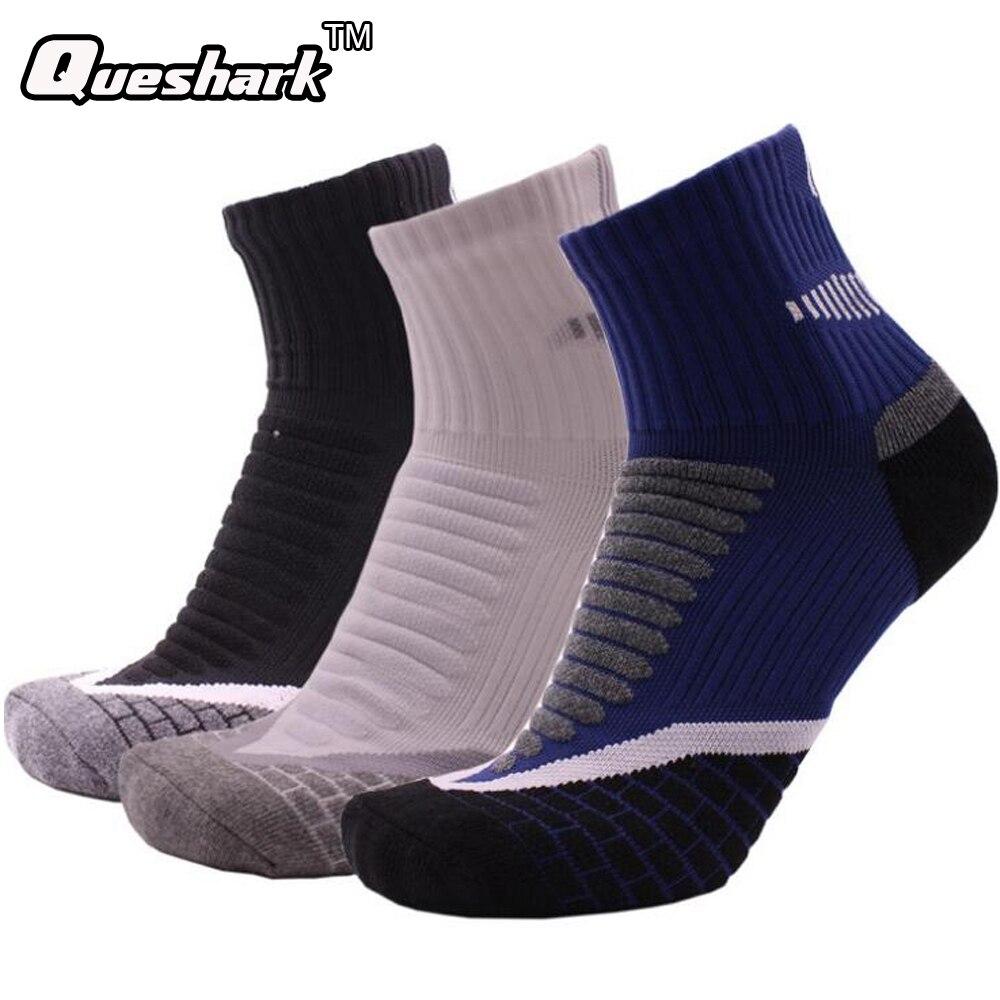1 Pair Football Basketball Breathable Cotton Socks Running Warm Sports Coolmax Socks