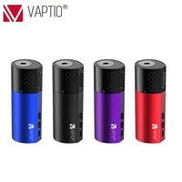 New E cigarette Vaporizer Vaping Kit mod Vaptio Vex 100W TC Box Mod fit 510 thread Vaper vs Armour Pro 100W box mod No Battery