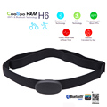 New Bluetooth ANT+ Outdoor Fitness CooSpo Sport Heart Rate Monitor Smart Sensor Chest Strap H6 for iPhone 4S 5 5S 5C 6 6Plus