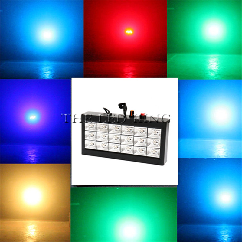 White Led Strobe Laser Disco Laser Projector 3w/pcs Voice Control Led Party Lighting 60w Laser Effect Lighting 100% Original Stage Lighting Effect Rgb Lights & Lighting