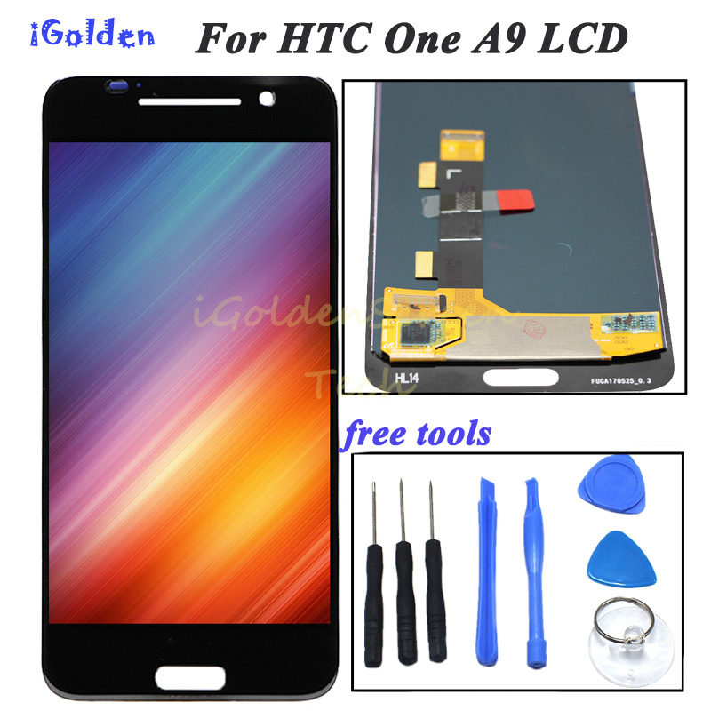 Original Amoled LCD For HTC One A9 LCD Display Touch Screen Digitizer For HTC One A9