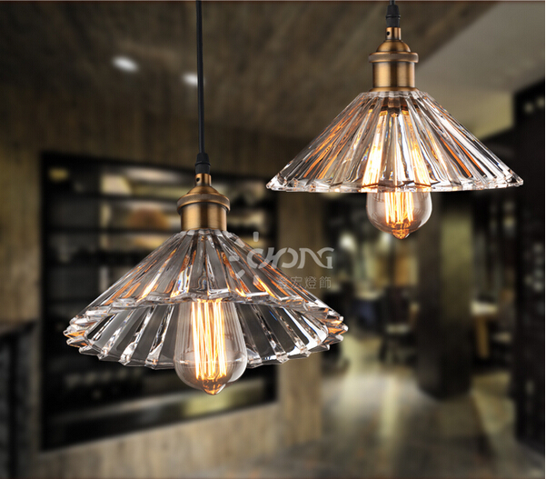 loft iron crystal glass led e27 vintage pendant light for living room dining room bar pub restaurant shop1856 стоимость