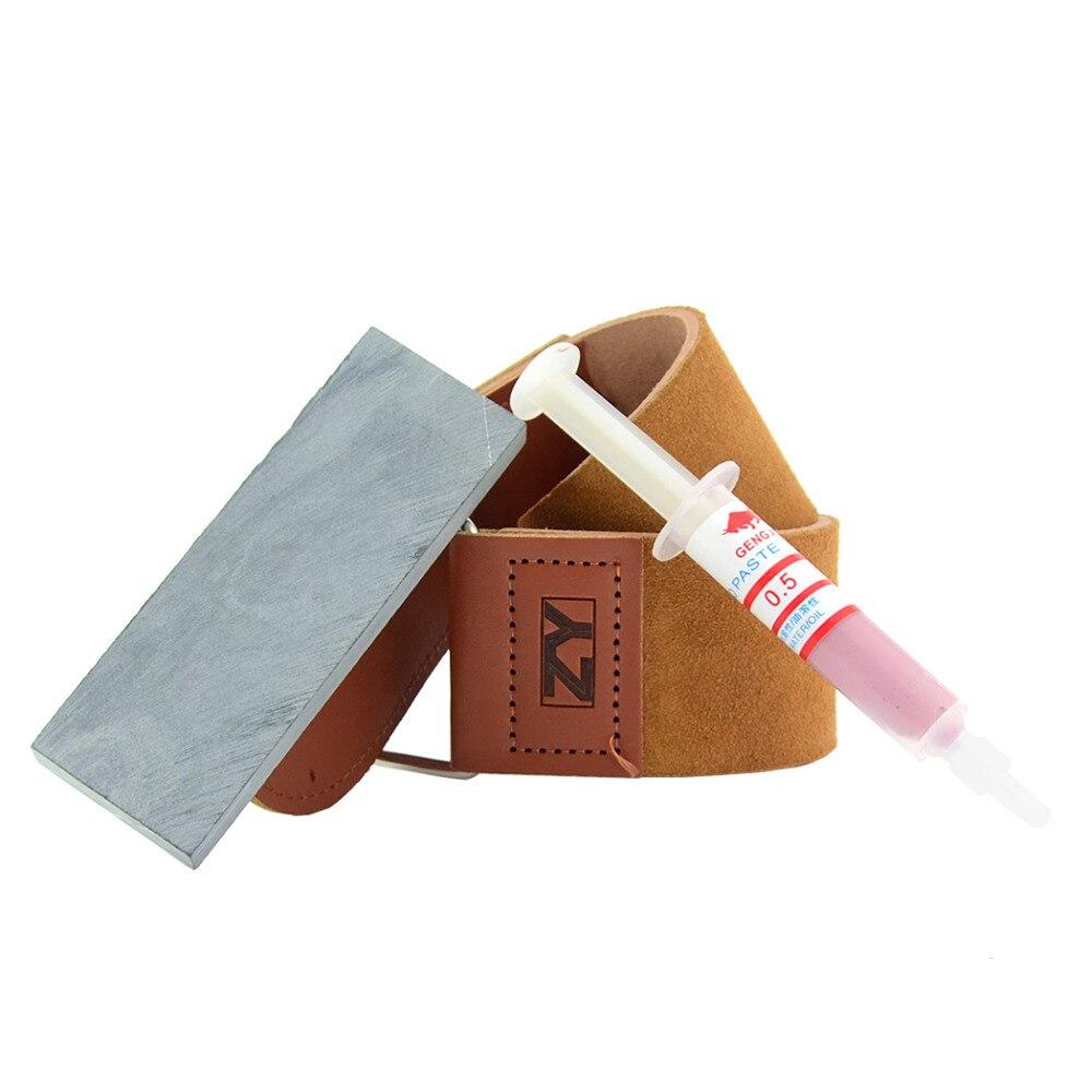 ZY 3000 # Grit Schleifstein Wasserstein Schärfen Gerade Rasiermesser Natürliche Stein Küche Leder Schärfen Streichriemen 0,5 W Polieren Paste