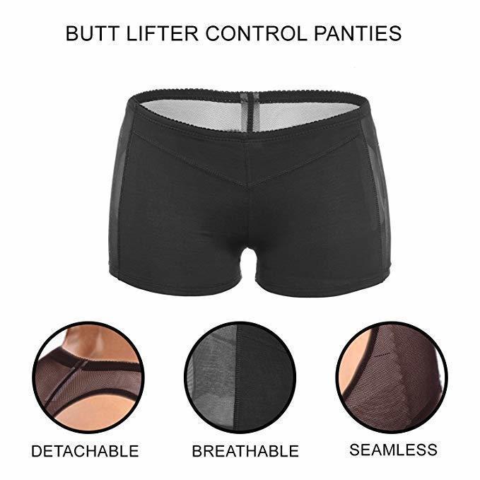Womens Butt Lifter Panties Tummy Control Seamless Enhancer Body Shaper ,Briefs Underwear Booty Body Shaper Top 4