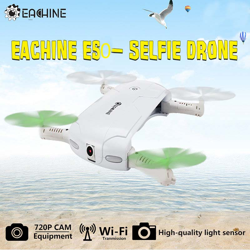 Upgrade Eachine E50 2MP 720P WIFI FPV Selfie Drone With Beauty Mode Altitude Hold RC Quadcopter RTF VS E52 E50S JJRC H37 eachine e52 2mp wide angle wifi fpv with altitude hold foldable arm rc quadcopter drone toys rtf red blue vs jjrc h37 mini e50