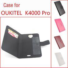 Высокое качество Новые кожаные для Oukitel K4000 про телефон чехол откидная крышка для Oukitel K4000 Pro телефона Корпус 5.0 дюймов в наличии