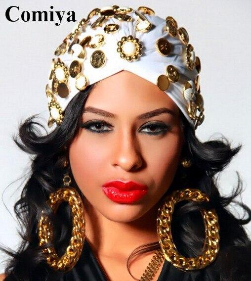 New Women Jewelry Beautiful Big Round Drop Punk Style -2043