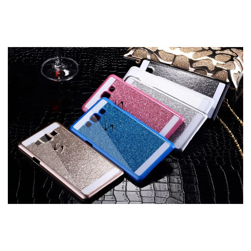 Bling Glitter Hard Phone Case Cover for Samsung Galaxy Ace 4 Lite G313 G313H G318H Grand ...