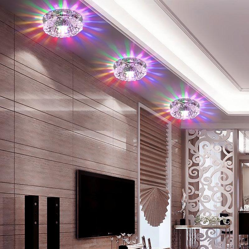 LumiParty Flush Mount Small LED Ceiling Light Ceiling Lamp for Home Art Gallery Decoration Front Balcony Porch light jk30 mini porch corridor ceiling lamp for front balcony porch mini flush mount modern led home indoor lighting ac110 240v