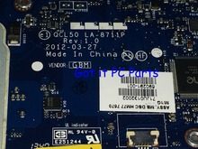 Available +Working Free Shipping QCL50 LA-8711P REV : 1.0 Laptop motherboard for HP Pavilion M6 notebook pc 686929-001
