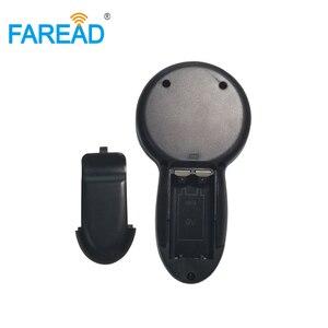 Image 5 - X5 משלוח חינם 134.2KHz microchip סורק HDX FDX B בעלי החיים RFID כף יד עיד אלקטרוני אוזן תג לחיות מחמד שבב קורא