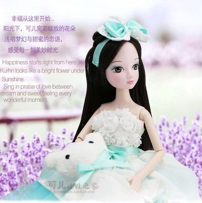 ФОТО 27.5cm  Original  kurhn doll Wedding Series   Brinquedos Meninas Bonecas Children Christmas Gift Kid Hobby  9078