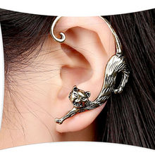 2018 JING YANG New Fashion Products Middle East Hot Vintage Punk Style Voluptuous Cat Ear Hanging Earrings fashion jewelry(China)