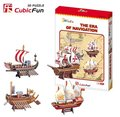 Christmas/Birthday gift,Home Adornment,3D Puzzle Model Toy,Paper model,Papercraft,the era of navigation