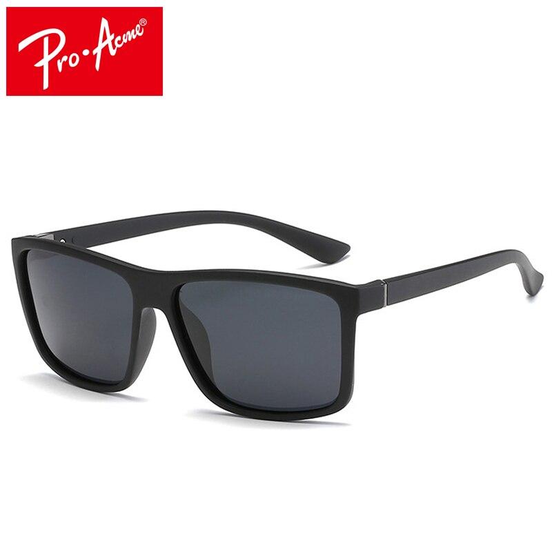 Pro Acme Polarized Men Sunglasses Square Driver Fishing Sun Glasses HD Lens Womens Designer lentes de sol CC0934