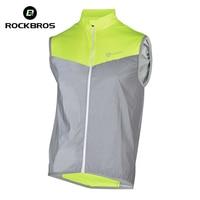 2016 ROCKBROS Reflective Cycling Vests Sleeveless Windproof Cycling Jackets MTB Road Bike Bicycle Jerseys Top Clothing