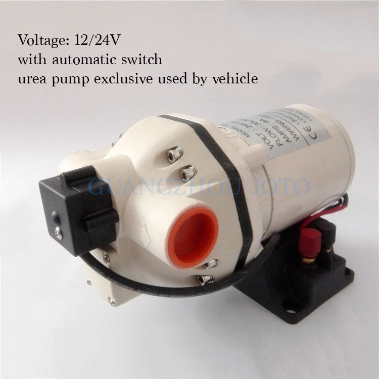 Small 24V Electrical DC Pump Diesel Machine Oil Urea Pump Chemical Industrial Self priming Diaphragm Pump Corrosion Resistant in Pumps from Home Improvement