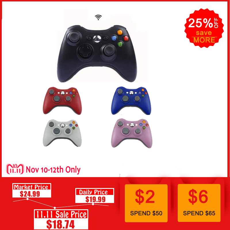 2.4G Wireless Gamepad For Xbox 360 Console Controller Receiver Controle For Microsoft Xbox 360 Game Joystick For PC win7/8/10 цена и фото