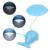 Iluminación interior LLEVÓ La Lámpara de Escritorio Flexible de Control Táctil Portátil Lindo Ballena Eye-protección Recargable Regulable Luces de Lectura
