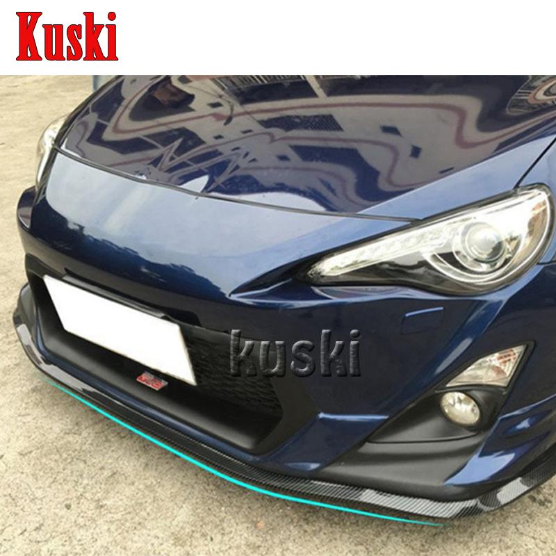 2.5m Car Front Chin Spoiler Sticker For Renault Duster Laguna Megane 2 3 Logan Captur Clio Lada Granta Kalina Priora Accessories for renault laguna 2 ii grandtour kg0 1