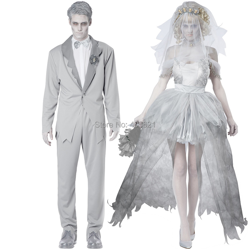 Online buy wholesale halloween bride dress from china for Corpse bride wedding dress for sale