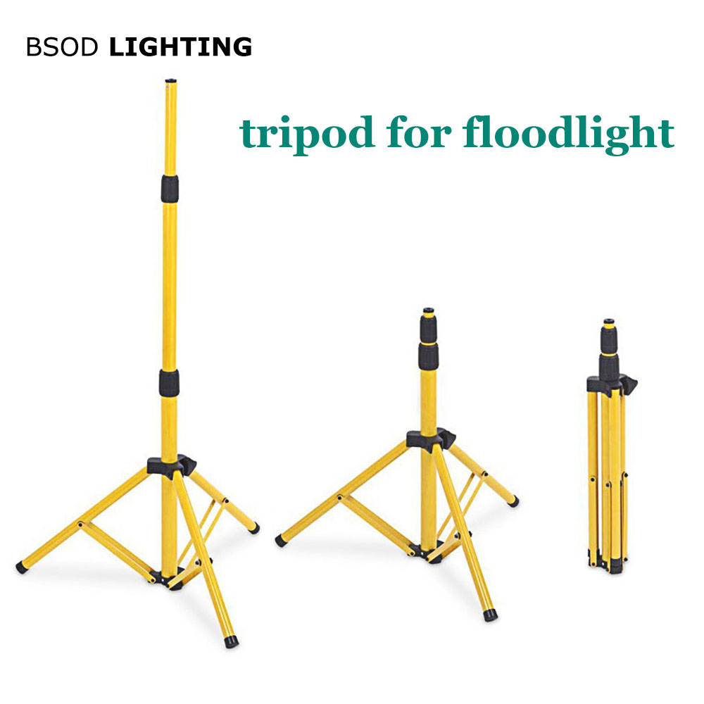BSOD Adjustable Floodlight Tripod LED Lighting Stand for LED Floodlight Camp Work Emergency Lamp Working Light