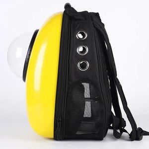 Image 3 - Wysokiej jakości Transport okienny przenoszenie oddychającej torby podróżnej bańka astronauta Pet Dog kapsuła kosmiczna plecak dla kota
