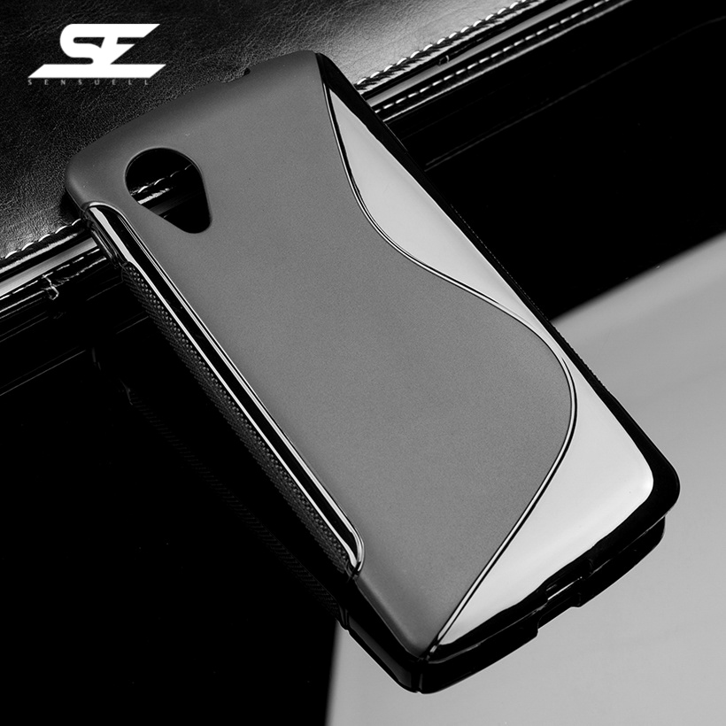 SENSUELL Soft Silicone TPU Shell For LG Nexus 5 Case Cover For LG Google Nexus 5 E980 D820 h Nexus5 D821 Flexible Phone Cases ...