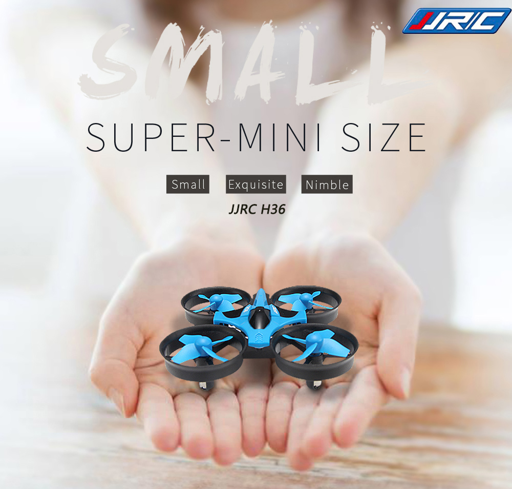 Nartor RC Original JJRC H36 Mini Drone 4CH 6 Axis Headless Mode/Speed Switch/One Key Return RC Quadcopter with LED Light Drone