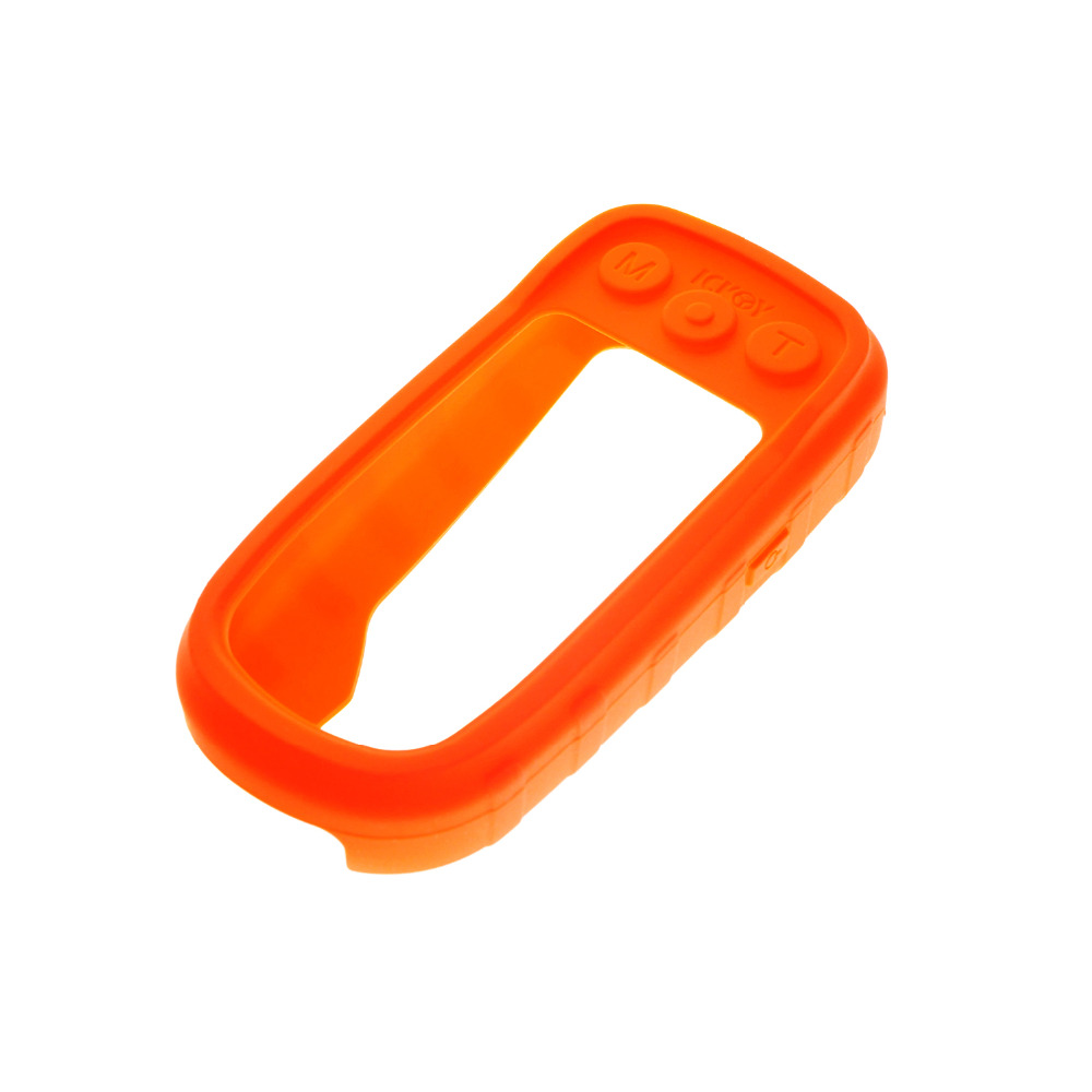 Soft Silicone Protective Cover Protect Orange Case Skin for <font><b>Handheld</b></font> <font><b>GPS</b></font> <font><b>Garmin</b></font> Alpha 100 Alpah100 Accessories image