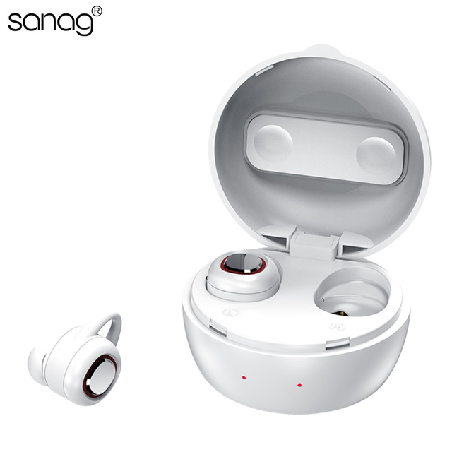 458ca28f6f0 Sanag Mini Wireless Bluetooth Headset In Ear Waterproof Noise Cancelling  Earphone Calling Music The Hottest AIR